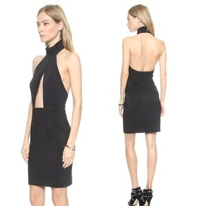 Solace London sexy backless LBD 'Dourn' - Sz 4